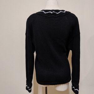 Bugle Boy Sweaters - 💎 Bugle boy classic cardigan L black white